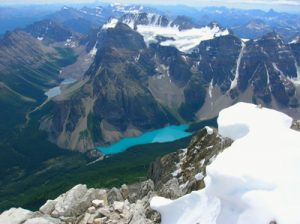 Mt Fay y Moraine Lake